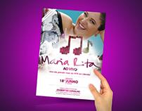 Campanha Show Maria Rita