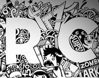 ARKI Doodle Tee~ Shirt