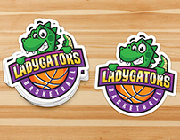LadyGators Logo & Stickers