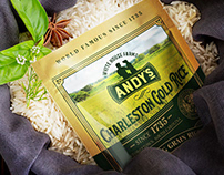 Charleston Gold rice, White House Farms, packaging
