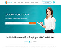 Job Portal | Website Design | Resume | Career