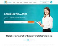 Job Portal | Website Design | Resume | Career