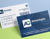 Atlantigás - Logo e Estacionário