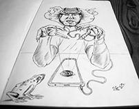 "Ilustración INSTINTO ANIMAL ""SAPADA VIRTUAL"""