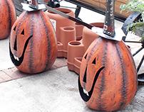Metal Pumpkins