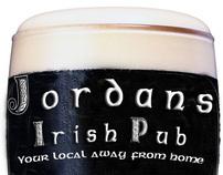 Jordan's Irish Bar - Graphic Design