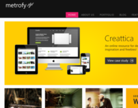 Metrofy - Responsive HTML5 Template
