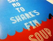 Say No to Shark's Fin Soup
