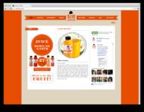 Sir Juice website
