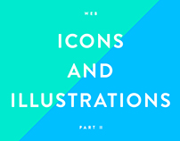 Web icons and illustrations part II