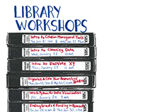 Tulane Libraries Workshops Flyers Spring 2020