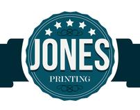 Jones Printing Co. Identity Package