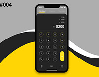 Calculator Design #Dailyui #004