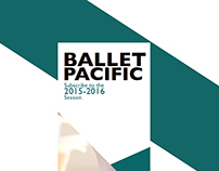 Ballet Pacific 2015-2016 Season Brochure