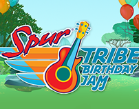 Spur Tribe Birthday Jam