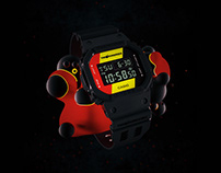 G-Shock/The Hundreds Watch Release