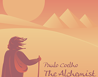Paulo Coelho - 'The Alchemist' book cover.