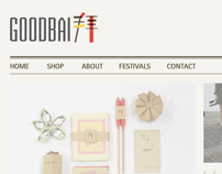 GOODBAI - website