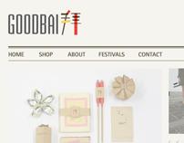 GOODBAI - website