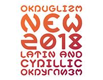 OKRUGLIZM NEW FREE / Decorative font