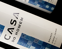 Casa do Homem - Wine Label