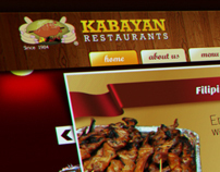 Kabayan Restaurants Website