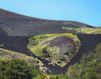 Around the volcano Etna