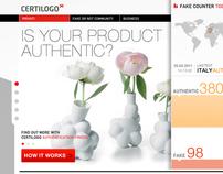 Certilogo - Authentication process - project pitch