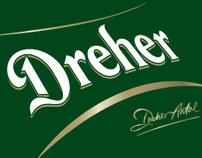 Dreher beer - logo design