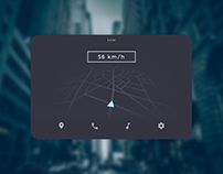Car Interface - #DailyUI #034