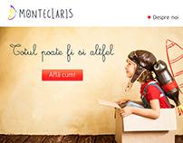 web design for Monteclaris