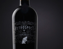 Retrospect Wine Label