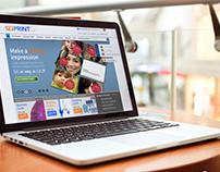 123 Print Website UX