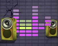 Motion Graphics: Music Hub