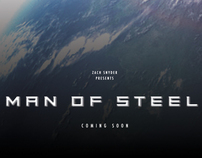 Man of Steel Poster Art