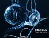 "Nokia ""conecting people"" advertising/billboards"