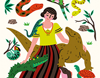 Book Illustration / Good Night Stories for Rebel Girls