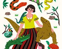 Book Illustration / Good Night Stories for Rebel Girls