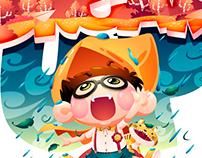 illustration/littlefatty-LOOK UP & DREAM