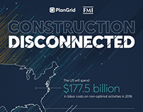 Construction Disconnected Infographic
