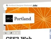 AIGA Portland Site