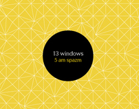 13 windows - 5 am spazm