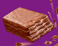 Nestle Munch Chocolate CGI
