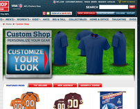 NFLShop's Custom Shop - Usability Analysis and Redesign