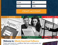 Liberty-Investment Landing Page