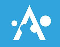 Logo dla stowarzyszenia na rzecz dzieci z autyzmem