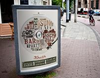 CAFE KNUTH // Eventposter