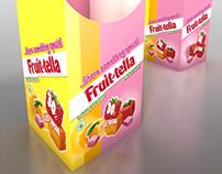 Fruitella Dumpbin Concept - 3D conceptual render