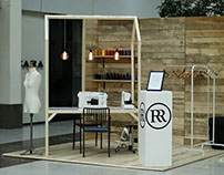 CARROUSEL CLOTHING -EXHIBITION STAND