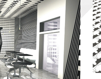 project of interior design and patterns for net-bar